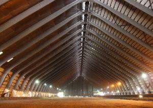 Untersuchung der Brettschichtholzbinder der Kohlemischhalle auf Schäden, sowie weitere Beratung bei anstehenden Baumaßnahmen