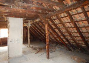 Dachstuhl Einfamilienhaus Insektenbefall