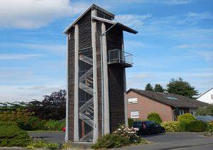 Glockenturm Tragkonstruktion aussen Web