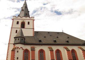 Kirche Stiftskirche St Goar Aussen Web