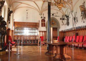 Schloss Stolzenfels Untersuchung Holz Inneneinrichtung Web